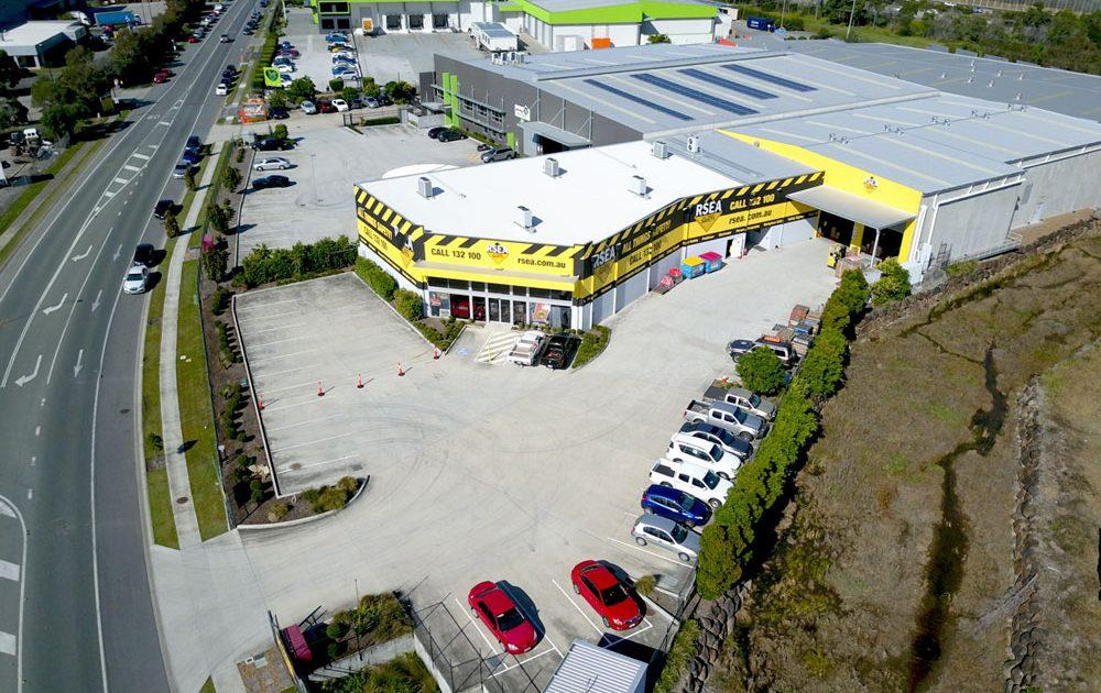 RSEA aerial view